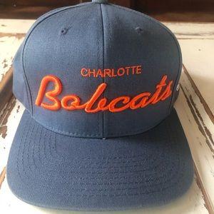 Charlotte Bobcats NBA Adidas Snap Back Hat NOS